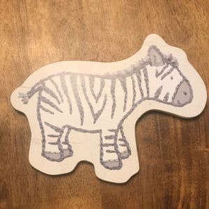 New Zebra wall picture decor by primitive by Kathy